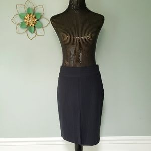 The limited wool blend travel suit skirt cute pleating size 4